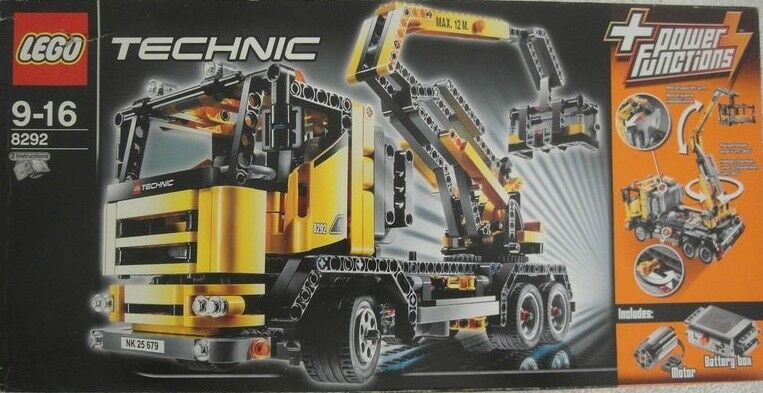 Original VERSIEGELT- LEGO Technic 8292 Truck mit Hebebühne OVP UNGEÖFFNET