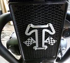 RADIATORE Radiatore emblema TRIUMPH STREET TWIN Bonneville Thruxton t120 Thunderbird
