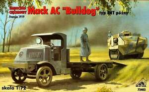 PESANTE CAMION MACK AC BULLDOG TIPO EHT 1//72 RPM Panzer