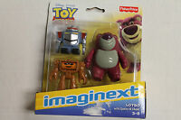 Fisher-price Imaginext Toy Story Lotso With Sparks & Chunk Set