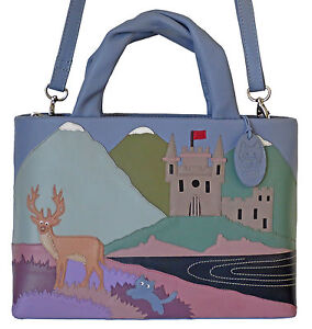 Image Is Loading 50 Off Ciccia Cat Tish Highlands Blue Leather