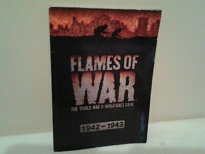 2019 Moda Flames Of War 1942 - 1943-mostra Il Titolo Originale Buona Conservazione Del Calore