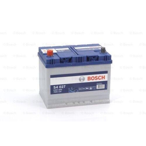Bosch S4 027 Autobatterie Starterbatterie 12V 70Ah 630A Jeep Land Rover Peugeot