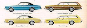 1976 Dodge Coronet Concessionnaire Brochure/catalogue : Break,brougham,crestwood Prcky3u6-08010036-347910675