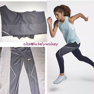 100% Vero Nike Alimentazione Veloce Grafica Da Donna Corsa Allenamento Palestra Collant Fornitura Sufficiente