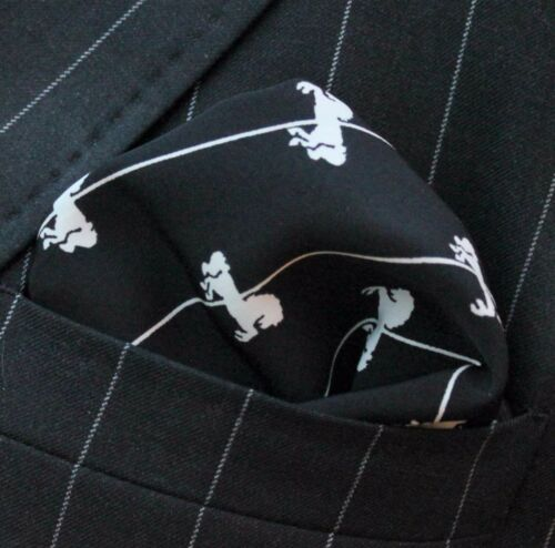Hankie Pocket Square Handkerchief  Carousel Pony UK Made