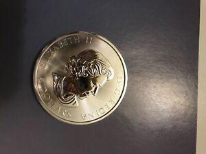 2017 CANADA UK Queen Elizabeth II GRIZZLY BEAR 1 1/2 OZ Silver $8 Coin