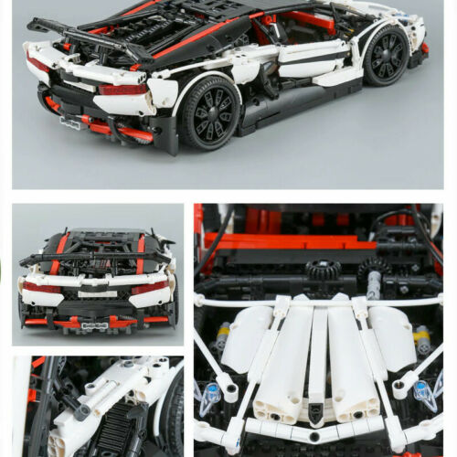 LAMBORGHINI AVENTADOR 2.838 Pices 42083 Blocks Bricks MOC TECHNIC 42056