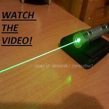 Grün Laser Pointer Stift High Power Strahl Pen + Akku + EU Ladegerät + Gift box