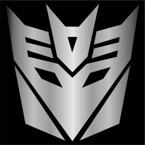 Choose Size /& Color Transformers Megatron Decepticons Sticker Decal