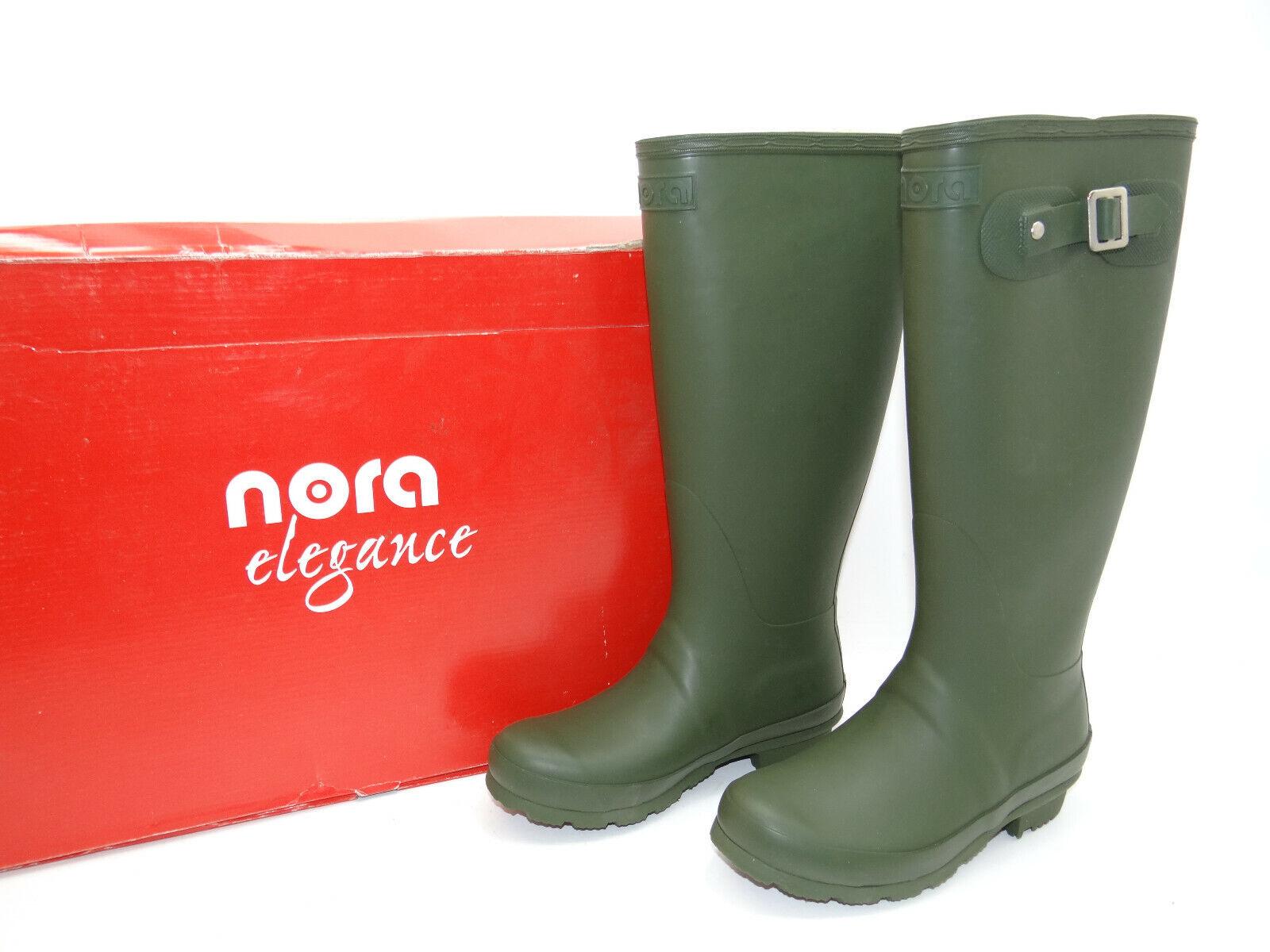 NORA Elegance Gummistiefel Schuhe Damenstiefel Gr. 36 Stiefel NEU
