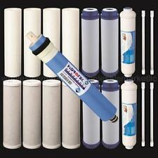 19 pcs Replacement Water Filter Set for our 6 Stage UV Reverse Osmosis System