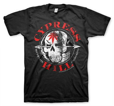 Officially Licensed Cypress Hill South Gate California Men/'s T-Shirt S-XXL