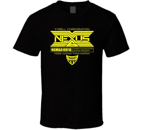 Blade Runner Nexus 6 shirt black white tshirt men/'s free shipping