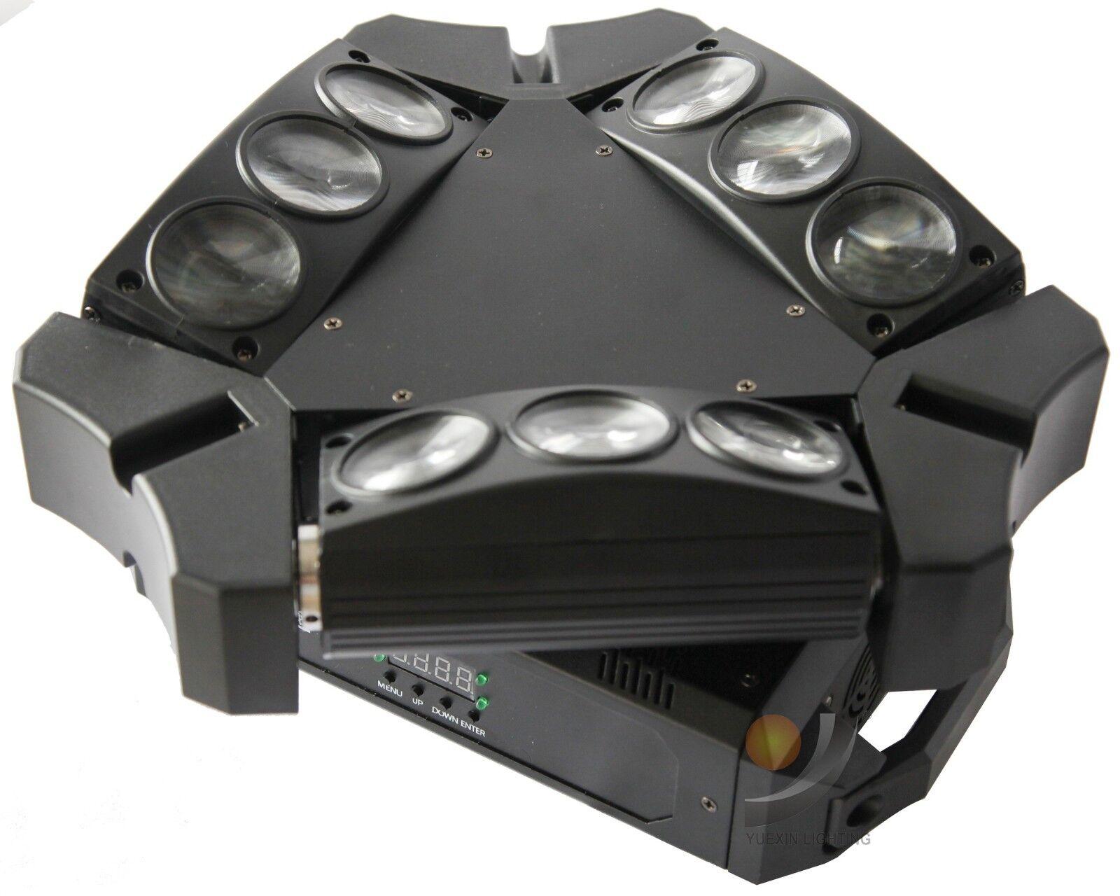 9x12W LED Spider Moving Head Light für DJ Disco Stage Party Bar Event Club Show