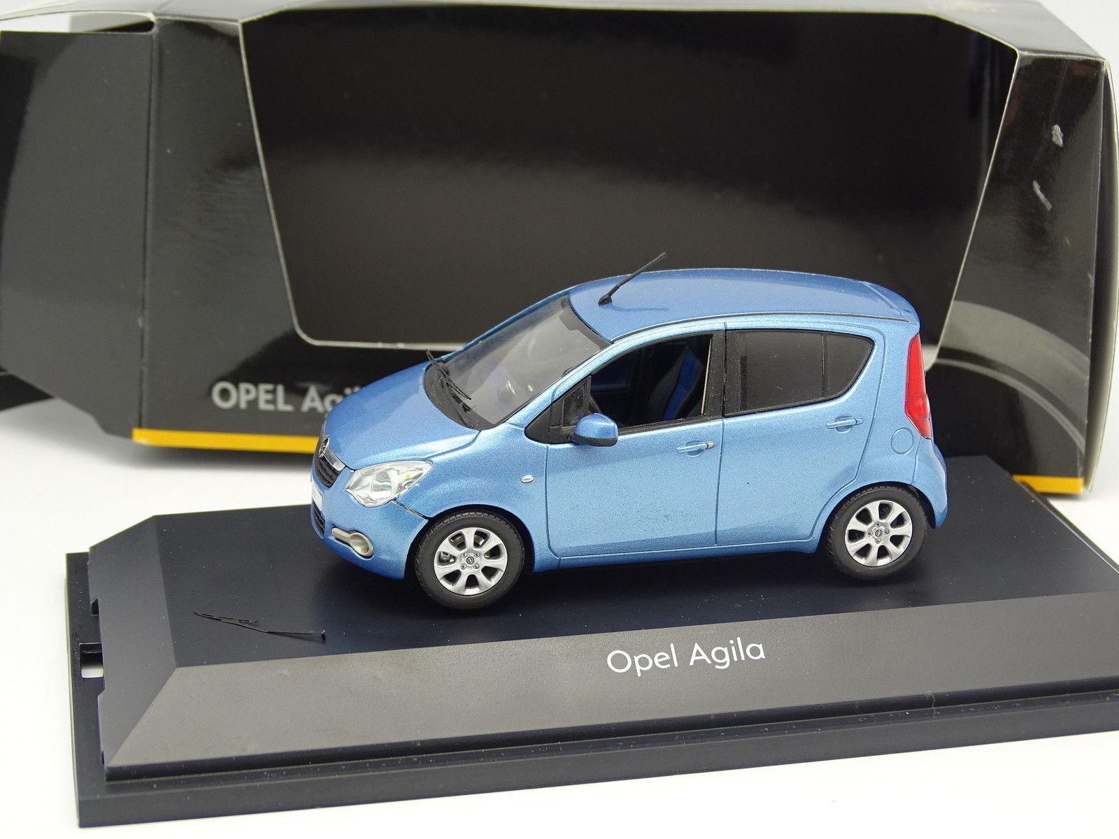 Schuco 1 43 - Opel Agila bluee bluee bluee 5189a2
