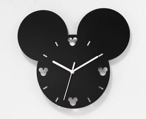 Large-Mickey-Mouse-Style-Wall-Clock-Acrylic-Modern-Living-Room-Bedroom