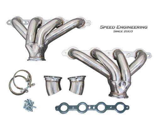 Speed Engineering LS Universal Hugger Headers Swap Conversion LS1 LS2 LS3 LS6