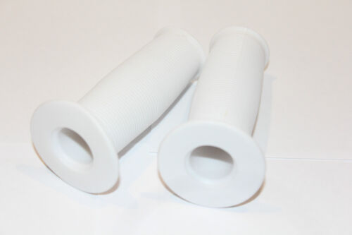 3/4 MUSHROOM TRIKE GRIPS WHITE JUNIOR BIKE HANDLEBAR HANDLE BARS CHILDS