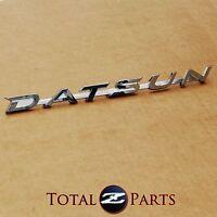 Datsun 510 Rear Trunk Lid & Fender Emblem, 1968-1973
