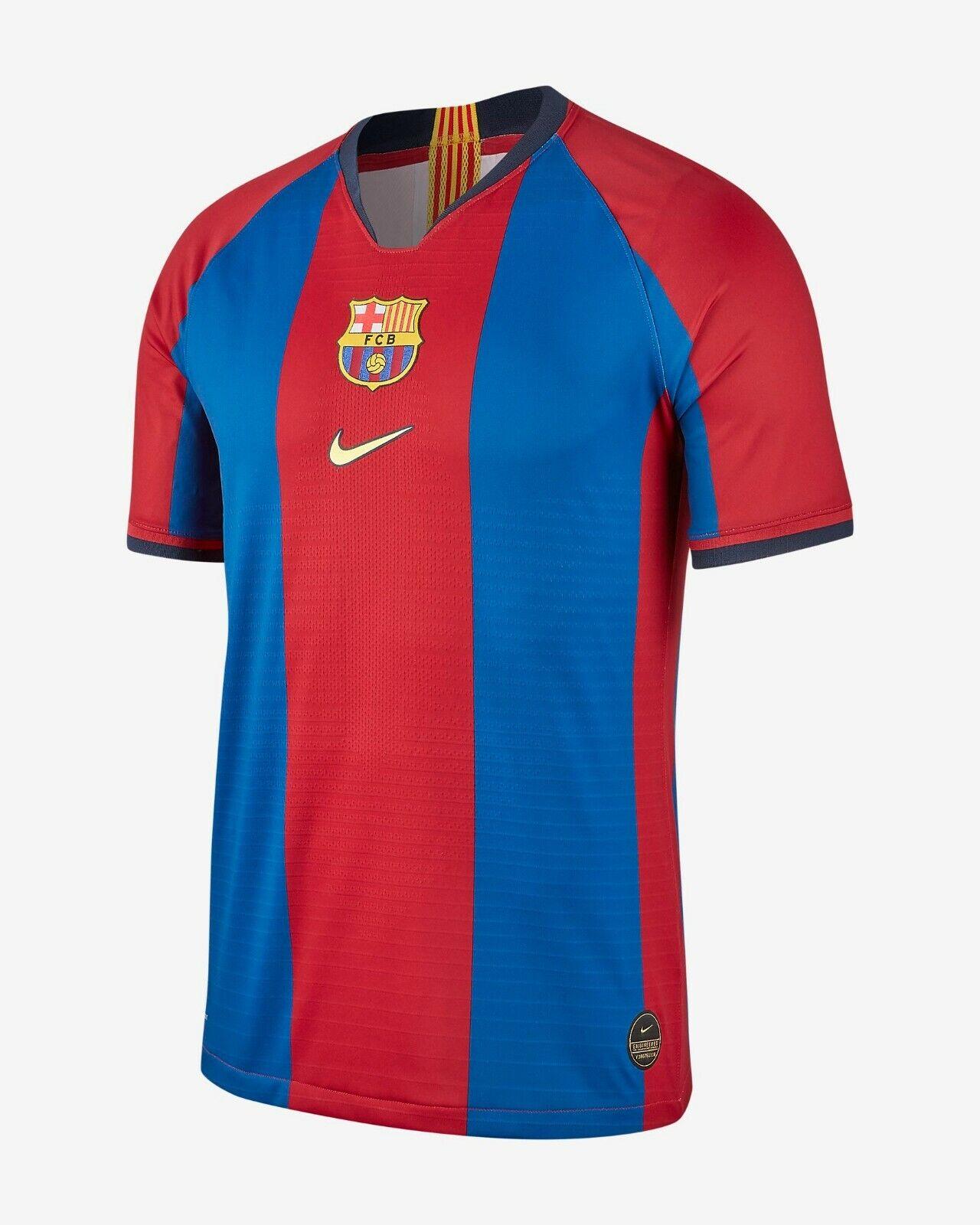 Camiseta Nike FC Barcelona Vapor match 98 99 remake Medio M 98 99 Edición Limitada