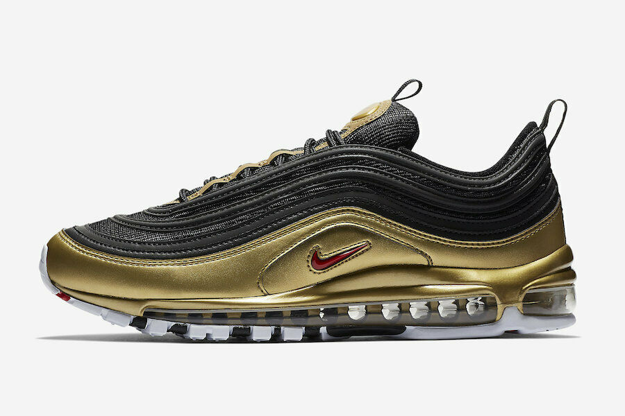 Size 15 - Nike Air Max 97 QS Metallic Gold 2018 for sale online   eBay