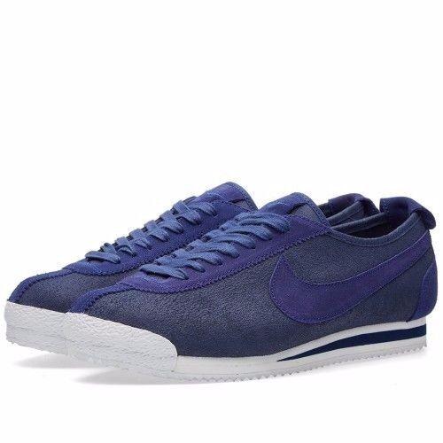 Nike Cortez '72 Loyal Blue Pewter White White White 863173 400 Men's (Size 10.5) 19fe7b