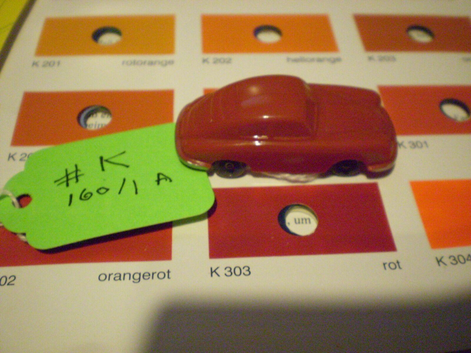 k Wiking Porsche 356 160/1 A  rosso rare   356 pre A Split Window unverglast