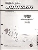 2003 Johnson Outboard Motor 40 & 50 Hp 4 Stroke Parts Manual (908)
