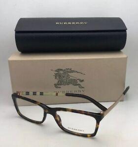 13d8e3fbed66 New BURBERRY Eyeglasses B 2159-Q 3002 54-16 140 Tortoise Brown and ...