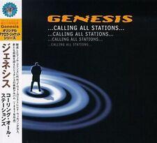 MINI LP CD VYNIL RÉPLICA IMPORT JAPON + OBI + GENESIS / CALLING ALL STATIONS...