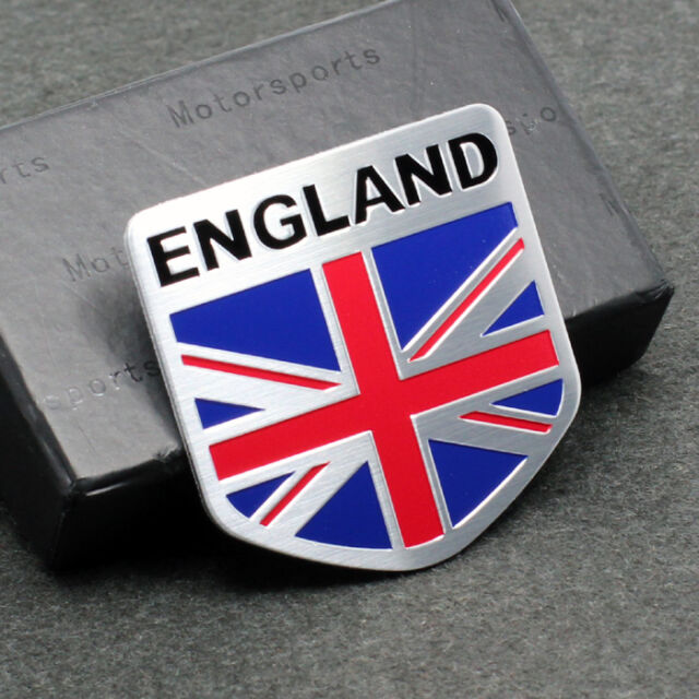 England Luxury Car: 2 England Britain National Flag Car Decal Emblem Badge