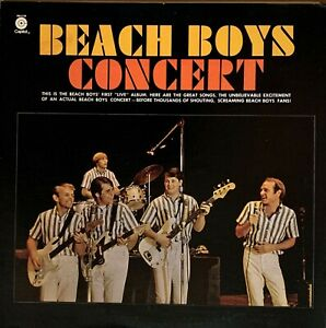 BEACH-BOYS-Pre-Owned-LP-BEACH-BOYS-CONCERT-Capitol-SM-2198-RARELY-PLAYED