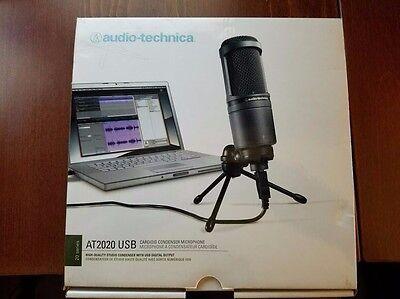Audio-Technica AT2020 USB Condenser Plug-in Professional Microphone