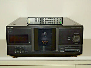 Sony-cdp-cx220-200-veces-cambiador-de-CD-en-negro-incl-control-remoto-2j-garantia