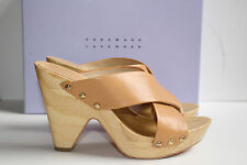Vera Wang Lavender ~Zella~Nakid clogs Platform slides sandals 5.5 ~$195 bag box