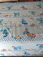 BLUES CLUES Twin Flat Sheet Bedding Occupations Jobs Nick Jr