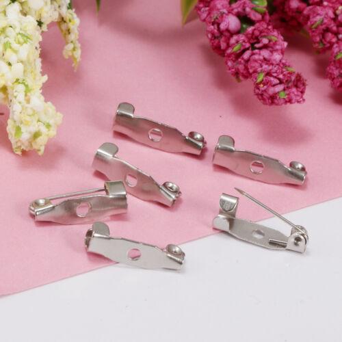 Brosche Pin zurück Verschluss Haar Clip Verschluss Schmuckzubehör