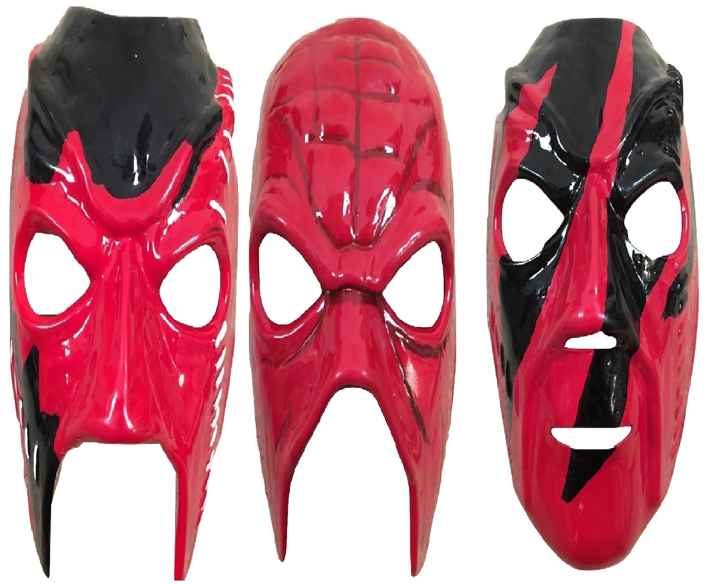 Completo Set UK Kane Wwe Wwf Wrestling Costume Up Maschera Adulti Bambino