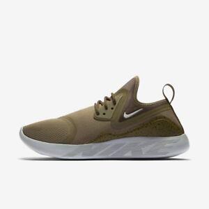 Nike Da Uomo Essenziali lunarcharge Trainer Shoe Taglia 9 10 MEDIUM OLIVE RUNNER