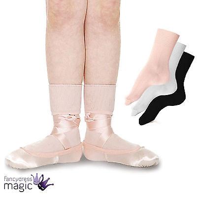 Roch Valley Niñas Ballet Danza Tap Jazz Moderno Calcetines al tobillo Accesorio Dancewear