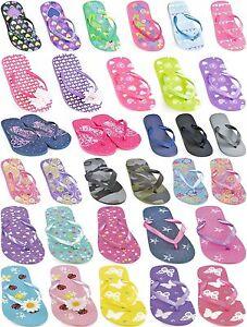 FLIP-FLOPS-GIRLS-BOYS-KIDS-JELLY-SANDALS-BEACH-SPORT-SIZE-9-10-11-12-13-1-2-3