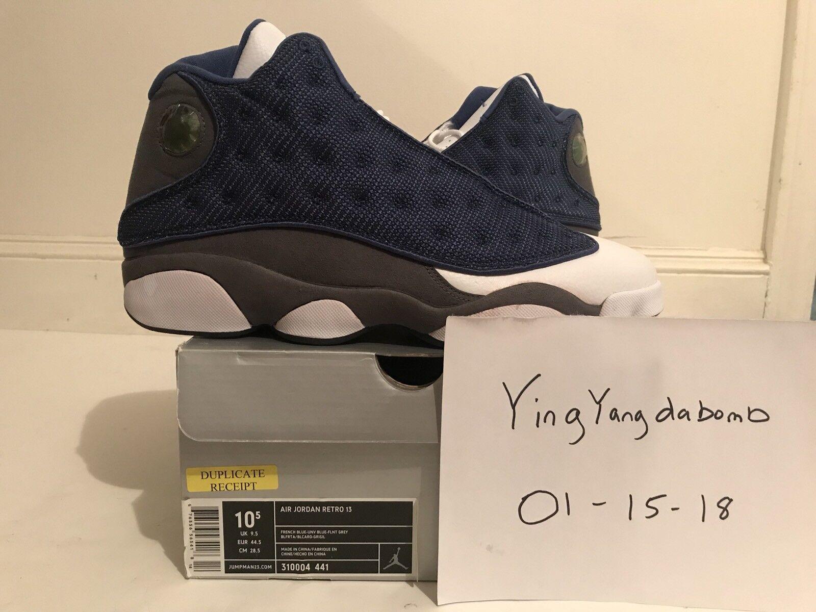 DS 2005 Nike Air Jordan XIII 13 Retro FLINT 310004-441 10.5