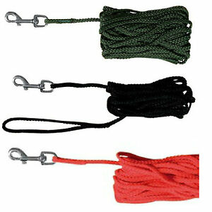Trixie-Dog-Training-Tracking-Lead-Long-Line-Lead-10m-15m-Recall-Obedience-Nylon