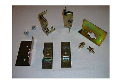 LARGE Tiger Claw Door Latches w// Install Kit street rod gm chevy ford mopar