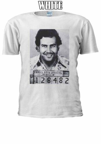 Mugshot Pablo Escobar Men Women Unisex T Shirt T-shirt Vest Baseball Hoodie 2279