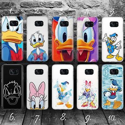 100% QualitäT Donald Duck A Disney Silikon Kunststoff Hülle Samsung S5 S6 S7 S8 S9 Edge +