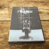 Ikiru Dvd 2004 2-disc Set Special Edition Nip Criterion Akira Kurosawa Film