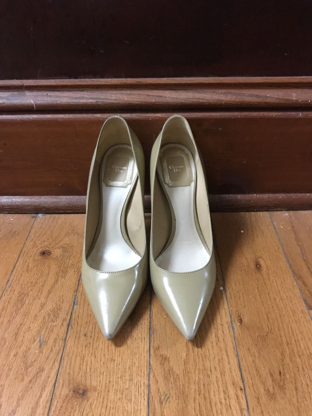100% Authentic Christian Dior Nude Pumps Size 35.5