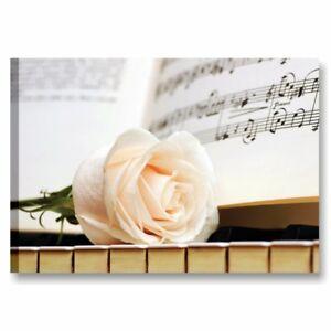 Pianoforte-e-rosa-2-QUADRO-SU-TELA-70x50-STAMPA-ARREDO-CAMERA-LETTO-SALOTTO
